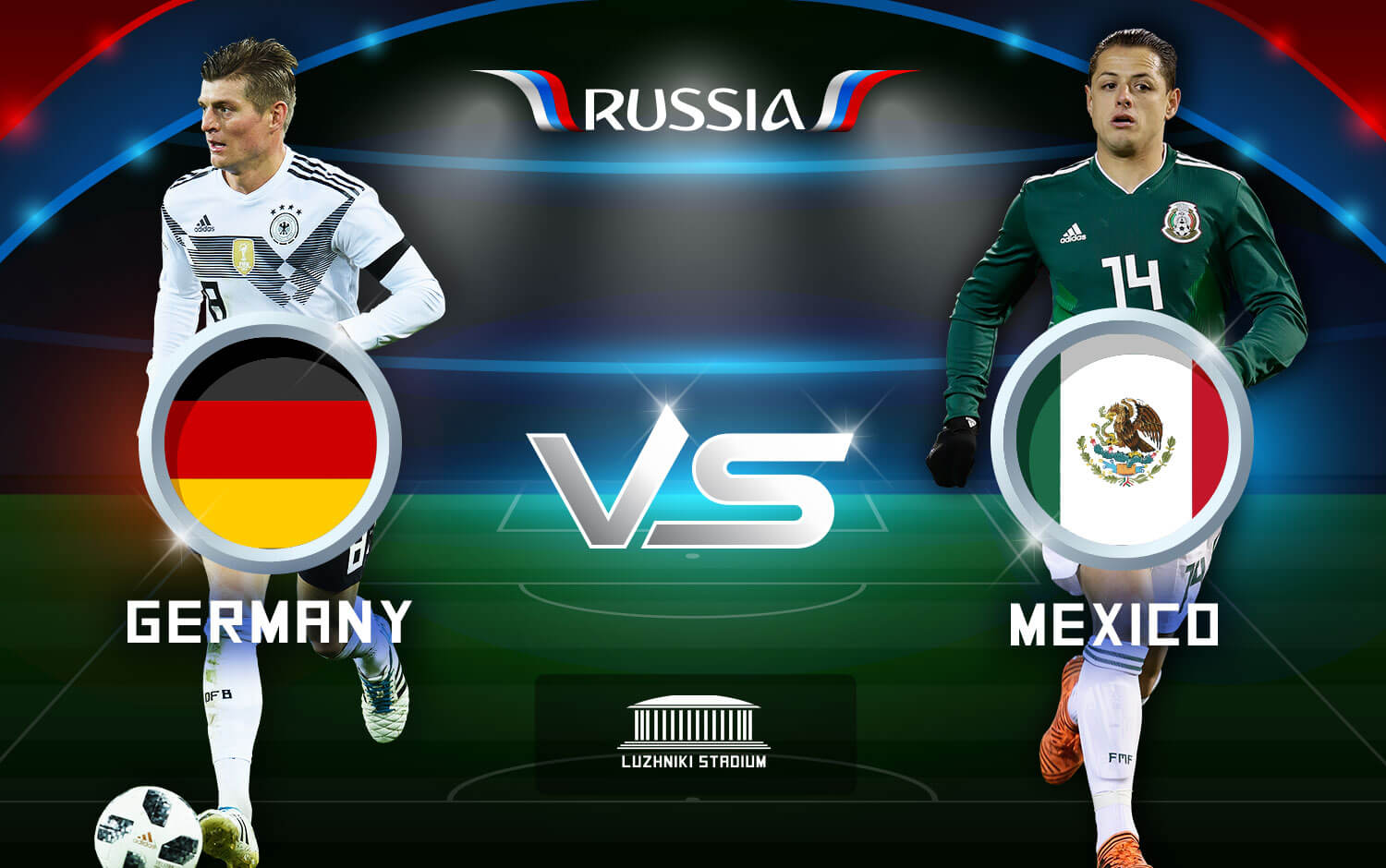Watch Fifa World Cup 2018 Germany Vs Mexico Live Stream