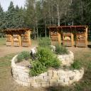 spirale et hôtels UB au Parc de Gerland