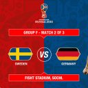World Cup 2018 - Germany vs Sweden live stream